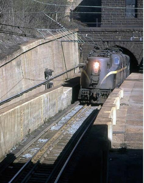 1961 North Portal at Bergen Hill, NJ