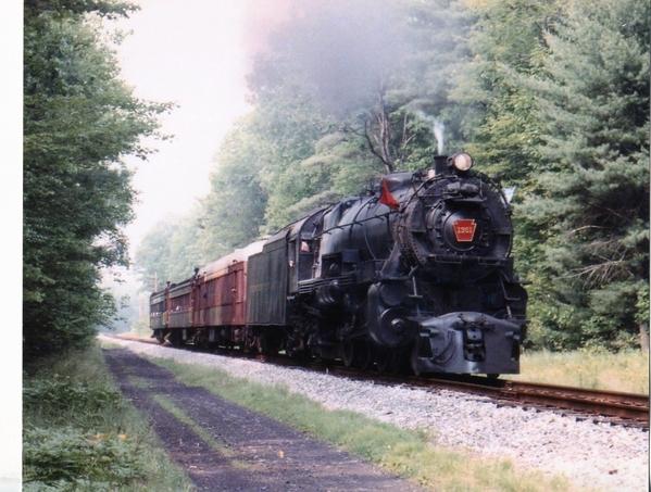 K-4 1361 on NCR Main Line 1988