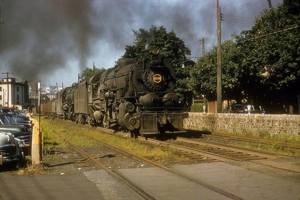 I1s [2-10-0) 4330 at Shamokin, PA on August 17, 1956