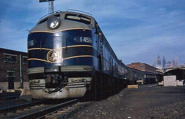 The Royal Blue at Communipaw Terminal 1958