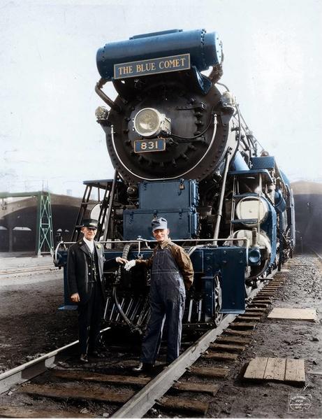 Blue Comet 1929 Publicity Photo