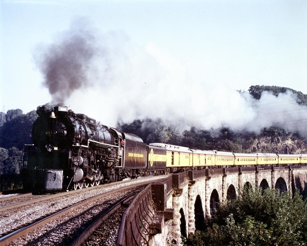 Chessie Passenger train