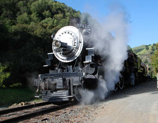 Steaming while stopped sized