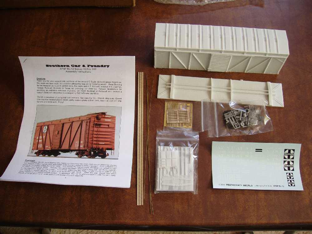 How To Write A Bill Of Sale For A Car >> rolling-stock kits for beginners? | O Gauge Railroading On ...