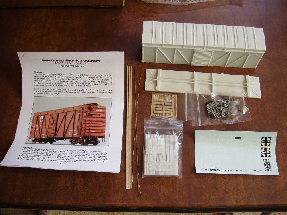 Sc Bill Of Sale >> rolling-stock kits for beginners? | O Gauge Railroading On ...