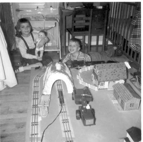 Geo III & Claudia ca 1951