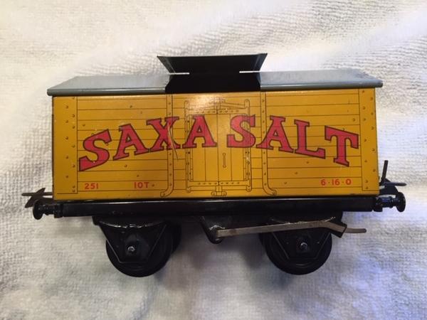 Box CAR 1 SAXA Salt car