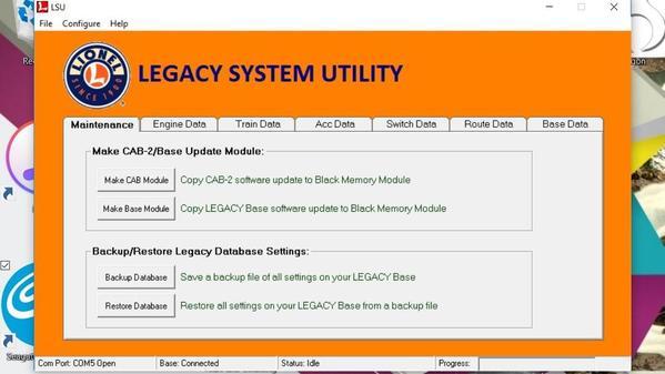 Legacy System Utility [2)