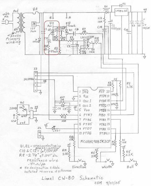 regulating voltage on cw