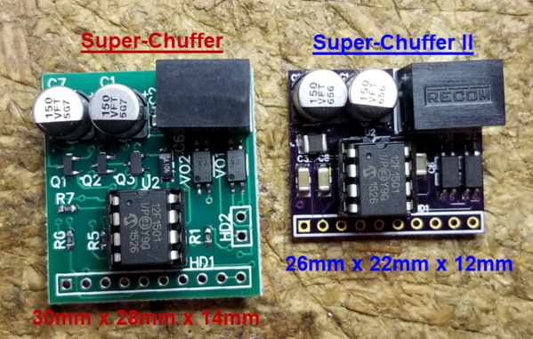 Super-Chuffer vs Super-Chuffer II