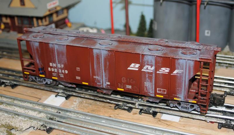 3 rail custom painted/weathered MTH cars for sale    O Gauge