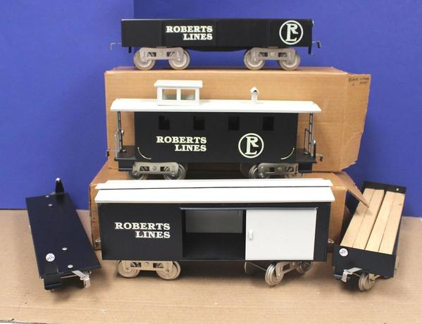 Roberts Lines Black Freight Cars