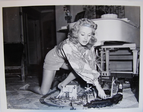 actress betty grable lionel