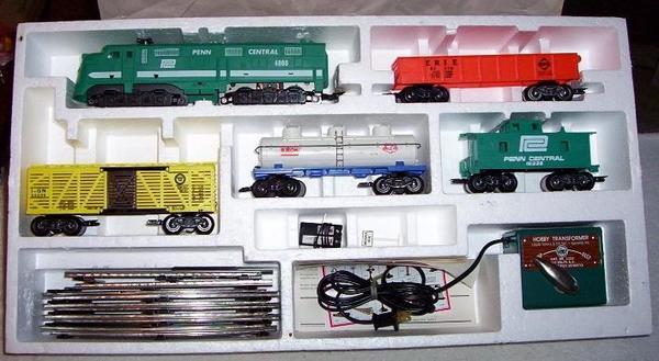 marx 41850 mohawk freight set boxed c