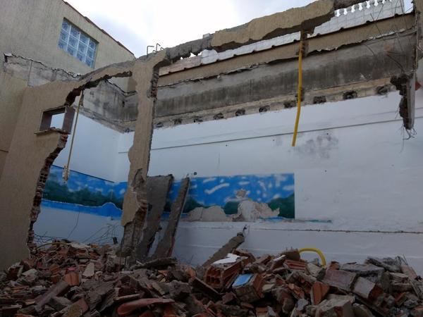 demolition old EnzoVille