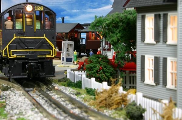 passenger platform & diesel