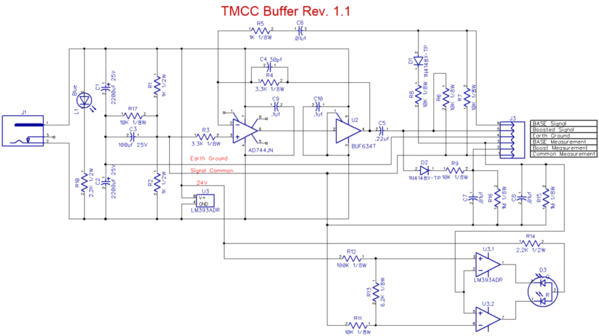 TMCC Buffer Rev 1.1 [SMT Schematic)