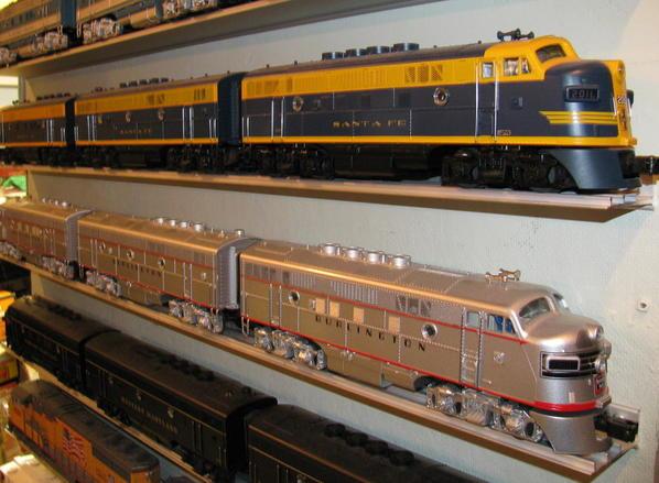 Premier-Burlington and Santa Fe F-units