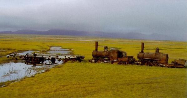 0-4-4T Forney Abandoned NYE Alaska