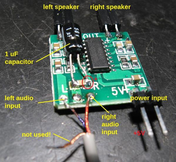 ogr mp3 amp wiring