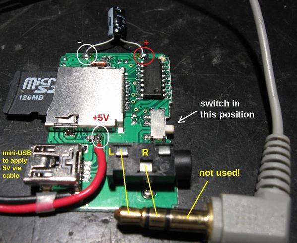 ogr mp3 player wiring