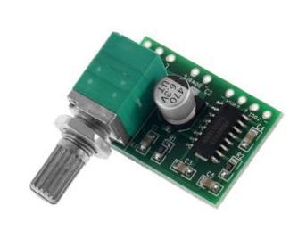 pam8403 amp with volume knob