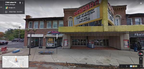 Redford Google Map
