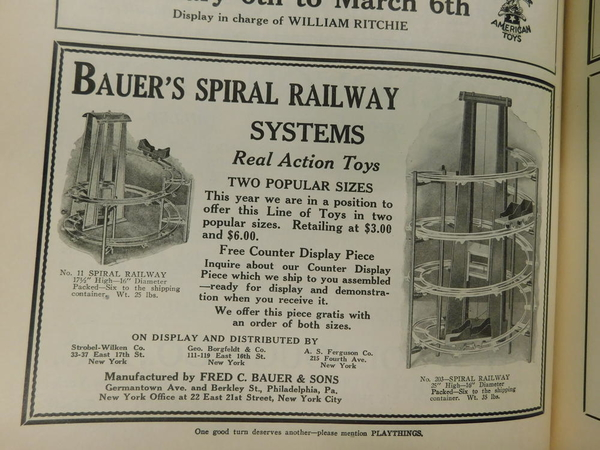 bauer no. 11 and 203 gravity railways