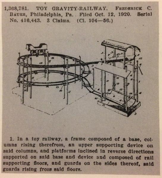 patent filed 1920