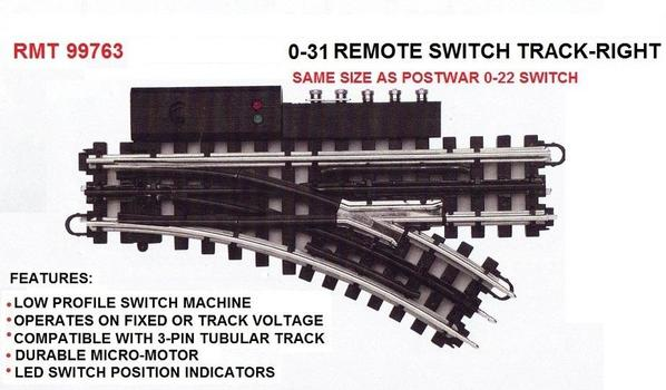 RMT-99763 RIGHT 0-31 REMOTE SWITCH