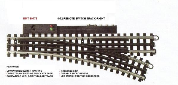 RMT-99775 RIGHT 0-72 REMOTE SWITCH