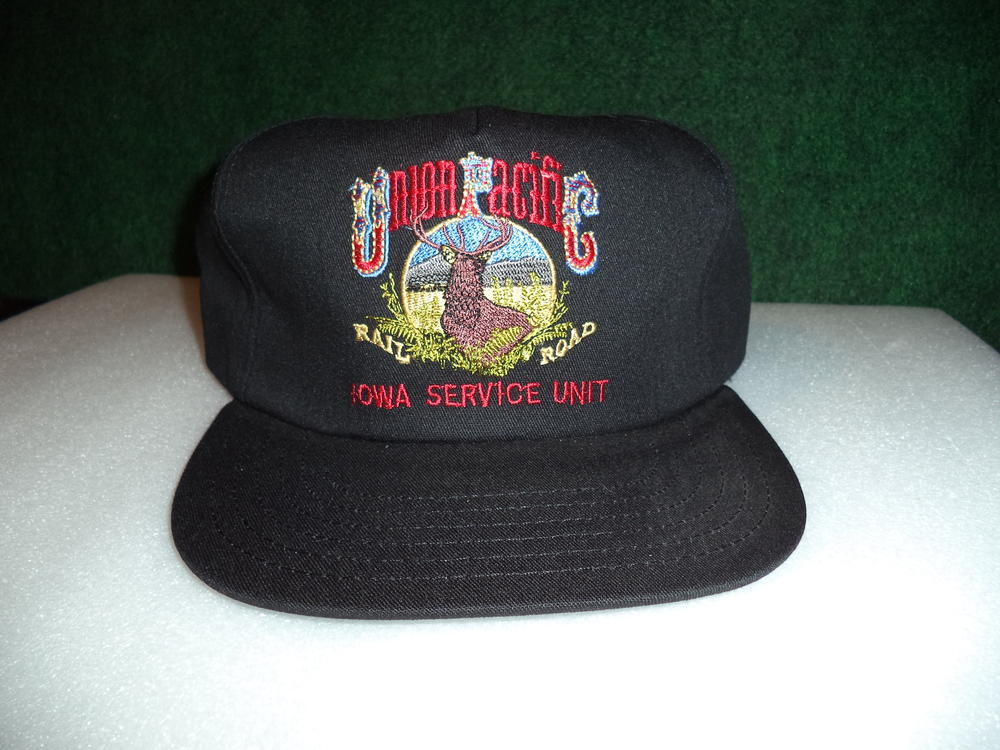 Cnw And Union Pacific Railroad Caps Hats All Sold O