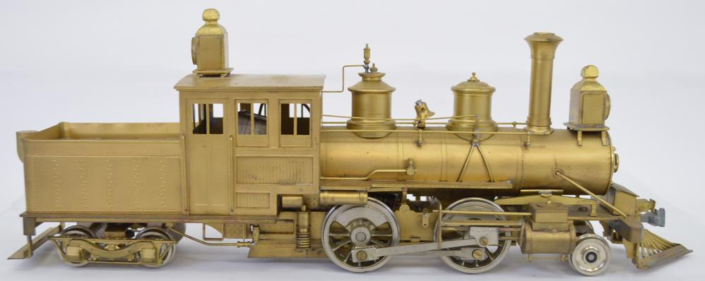 O scale brass locomotives and freight cars plus craftsman kits live