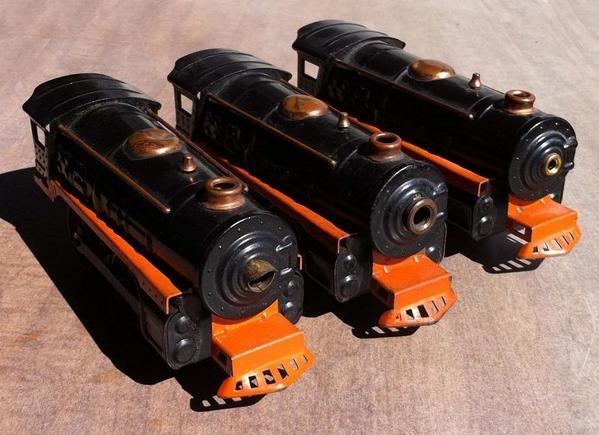 Winner Lines Steam loco variations