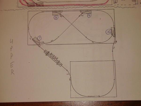 step 1b - Track design - upper