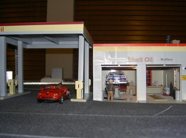 Shell Gas Station 003r