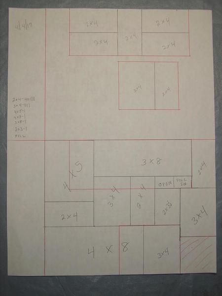 step 2a - Homasote