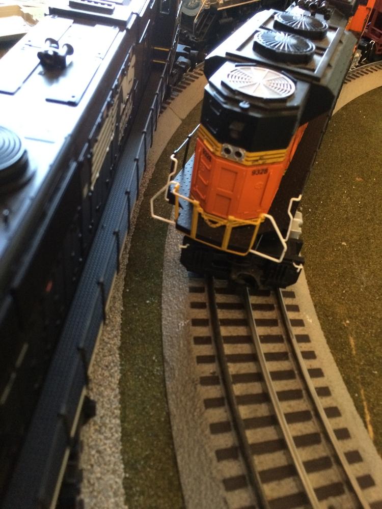 Lionel trains 031 curve  O gauge track 5 pieces