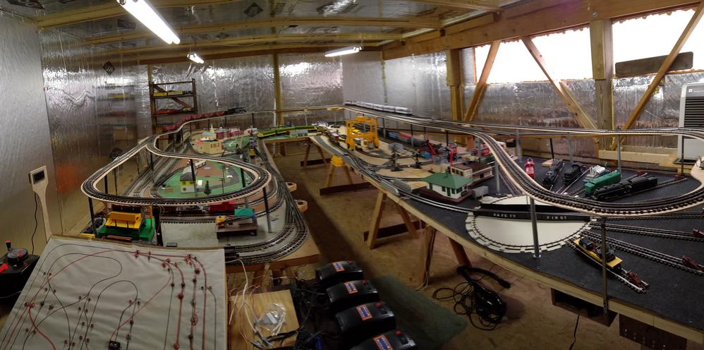 Lionel O Gage Ready To Run Train Layout For Sale Sold O