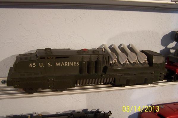 IM000144 Lionel Post 45 Marines Missile Launch Engine