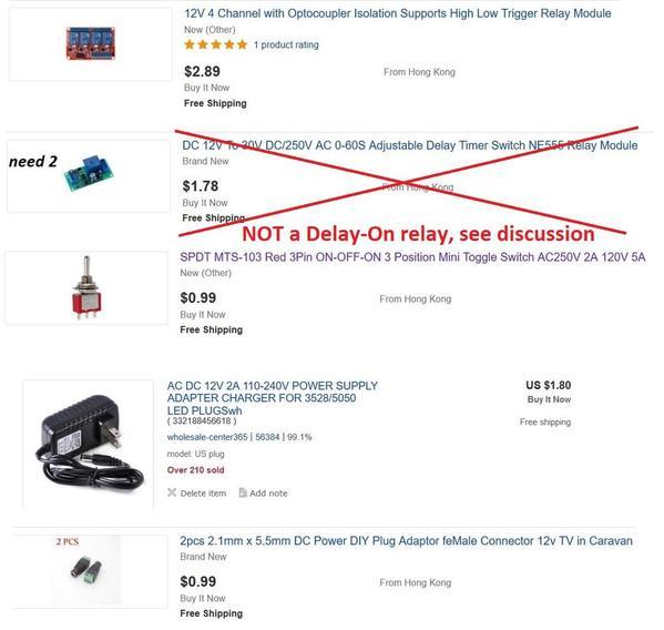 alternating out-back trolley using eBay modules 10 bucks