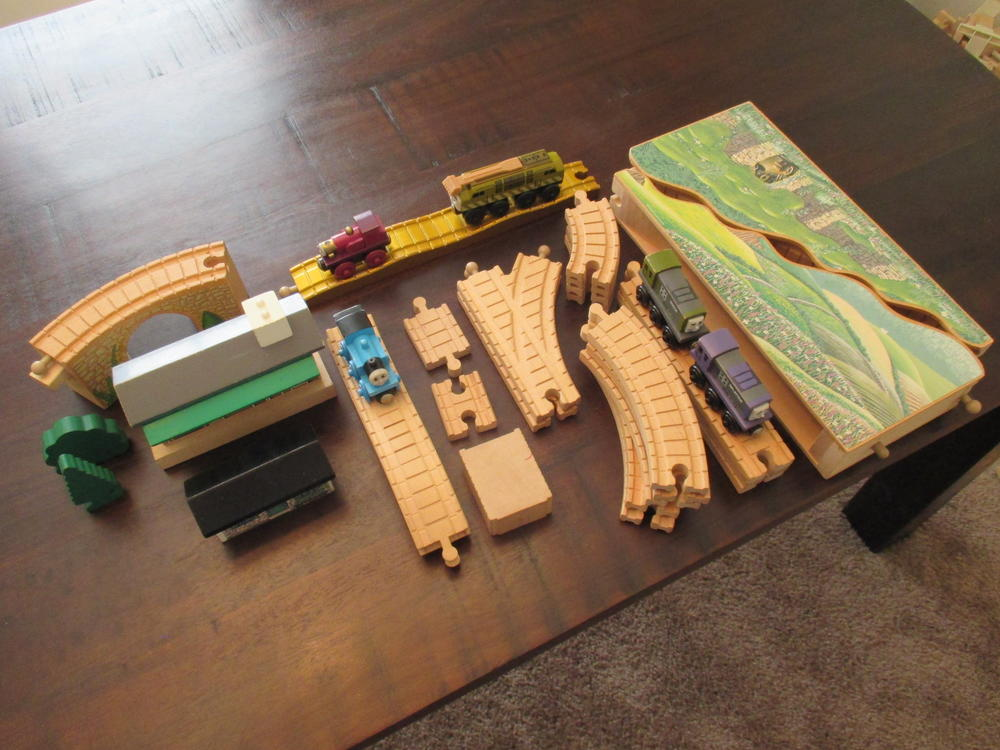 Thomas The Tank Engine Wooden Train Collection O Gauge Railroading