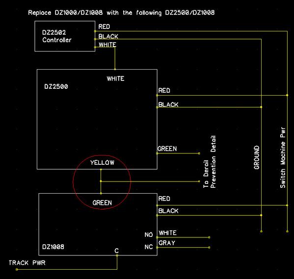 DS DZ2500 Wiring