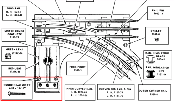 lionel 1122 switch wiring diagram