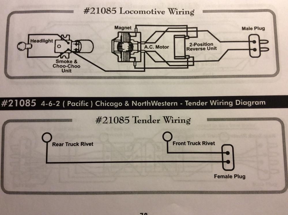 How to wire a post war American Flyer 3 wire E-unit to motor ... Day Cabs Wiring Diagram Reverse on