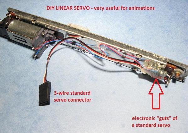 DIY linear servo