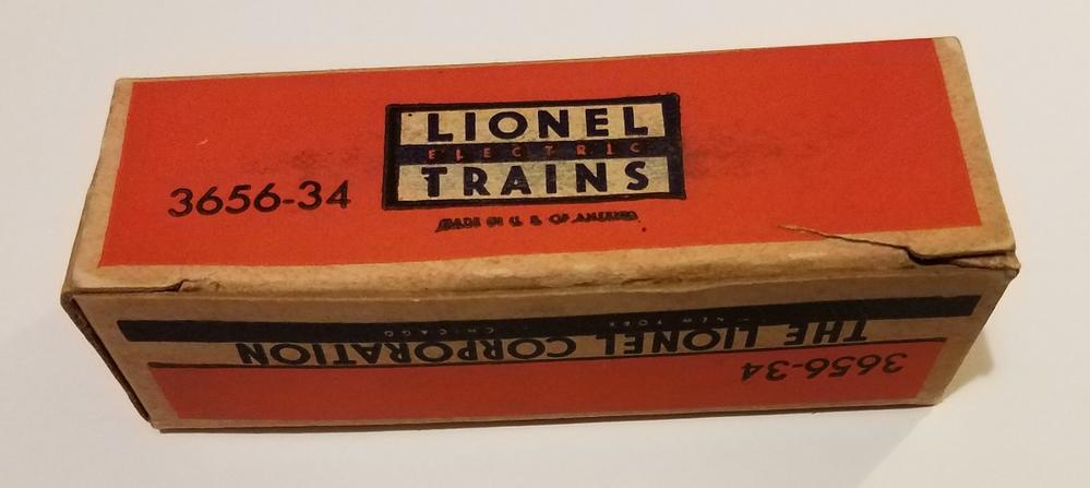 Lionel Postwar 3656-34 Cattle for 3656 Cattle Car and
