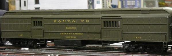 K-Line 1821 baggage car