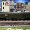 K-Line SF hvywt 1821 baggage car