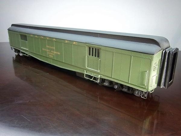 Am Stan 60' SF baggage car